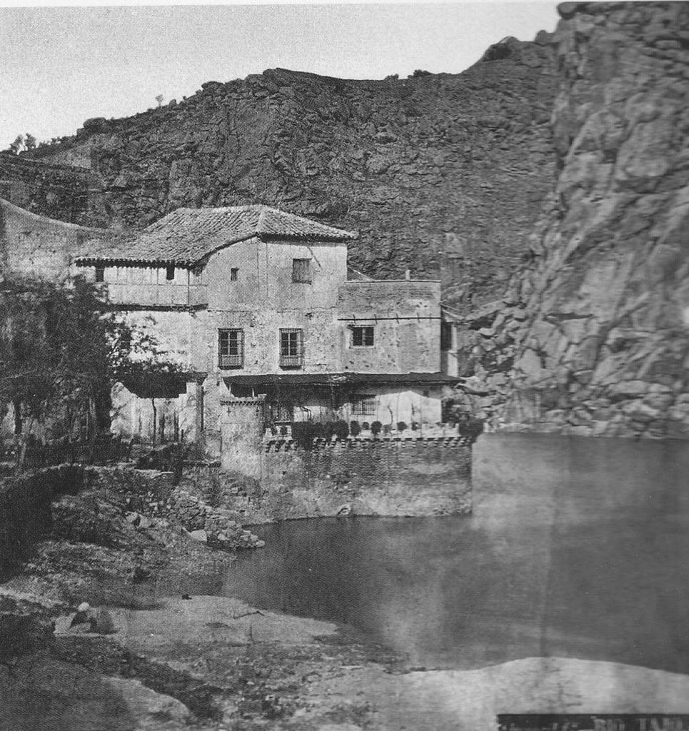Casa del Diamantista a finales del siglo XIX. Fotografía de Casiano Alguacil