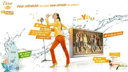 Yelle - Go Fresh pour Dove