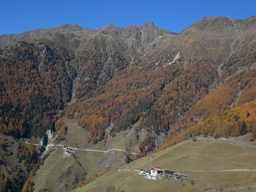 Teil des Panoramaweges nach Schlanders