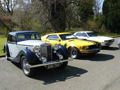 MG, and some Strathendrick Car Club guests