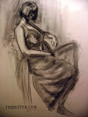 Charcoal Figure Drawing 042009-2