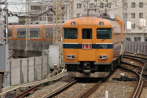 Kintetsu30000series in Uji-Yamada,Ise,Mie,Japan 2008/8/8