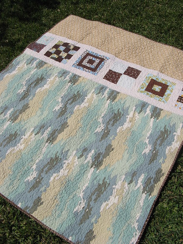 Mod Sampler Quilt Along Back
