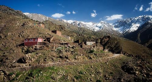Berber Village, High Atlas, Morocco
