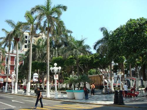 Zócalo, Veracruz.