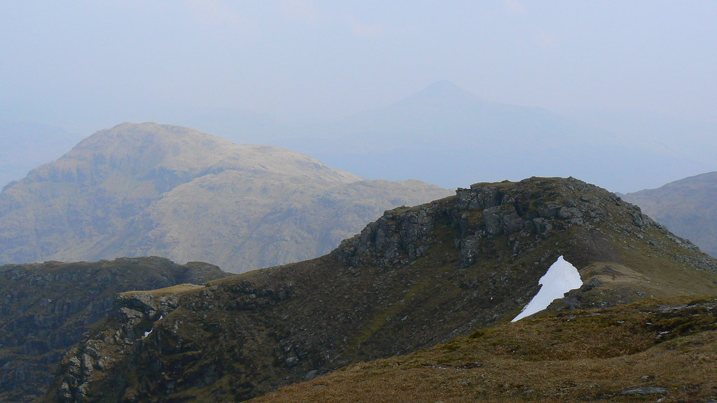 Beinn Narnain and Ben Lomond