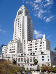 10 Los Angeles City Hall (E) (Kansas Sebastian) Tags: california architecture losangeles cityhall superman dailyplanet citybeautiful hcm150 johnparkinson albertcmartin johncaustin donaldparkinson austinwhittlesey kansassebastian