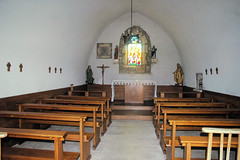 Intérieur de la chapelle d'Uxelles