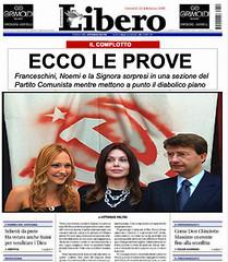il complotto (demopazzia) Tags: veronica letizia satira noemi berlusconi libero politica dario lario franceschini divorzio
