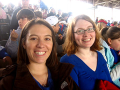 Wrigley Field Cubs vs. Giants 5/5/09 Steph and Apryl