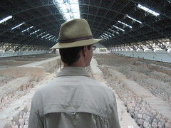 William Overlooking Terracotta Army