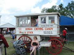 Roman Chewing Candy Truck
