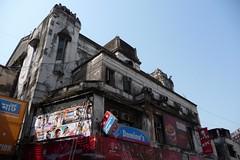 New Empire Cinema - Kolkata, India (John Meckley) Tags: india cinema film sign architecture movie hall theater treasure theatre indian historic dominos pizza kfc kolkata calcutta westbengal dominospizza newempire cinemahall