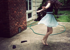 just a small town girl, until you learned to twirl (jessieroth) Tags: motion jessie self skirt twirl spinning