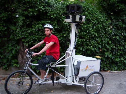 Street View Trike: Triciclos para hacer capturas de Street View en zonas difíciles 3542140936_41394f6846