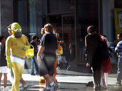 Homer on Hollywood Boulevard