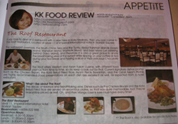 My May '09 food article in APPETiTE, Bandwidth Streetpress