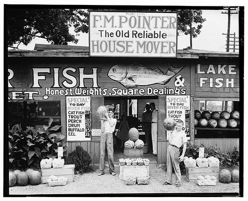 Roadside stand near Birmingham, Alabama (LOC)