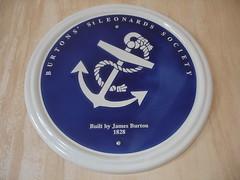 Photo of James Burton blue plaque