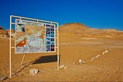 (641) Nationalpark Weiße Wüste (avalon20_(mac)) Tags: africa travel blue sky sahara nature geotagged desert egypt 500 misr eos40d schulzaktivreisen