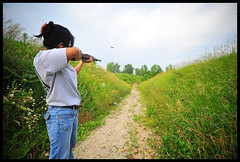 A Wife to Keep Happy (NateVenture) Tags: usa digital america freedom nikon indiana wideangle josh guns sullivan nikkor handgun bullets izumi rife firearm terrehaute in akm 30carbine 762x39 47882 d700 m1carbine socom16 1828d