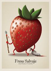 Fresa Salvaje (:raeioul) Tags: wild strawberry www fresa salvaje raeioul raeioucom