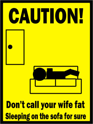 Wife Caution