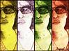 Kissy (clayangel_sc) Tags: woman selfportrait me girl sunglasses self digitalart redhead curly sp lipstick imagemanipulation selfie browneyedgirl photoeditors eoshe clayangelsc theessenceofwoman alookintomylife