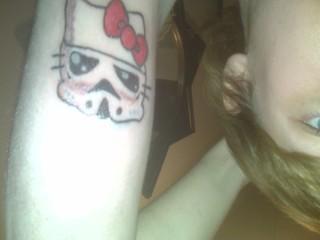 Hellowars first tattoo