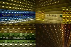 (jbilohaku) Tags: train subway tren europa europe metro praha praga subte czechrepublic repblicacheca eskrepublika prago metroo trajno eropo ekarespubvliko