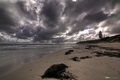 South Cott (Adon Buckley) Tags: sky storm beach clouds canon coast sand cloudy australia stormy hdr buckley adon 50d tokina1116mmf28