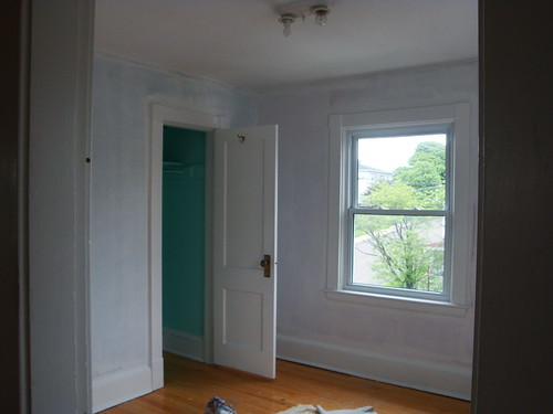 One bedroom primed