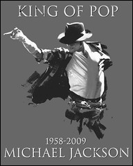 poster Michael Jackson king of pop