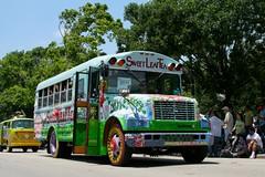 Sweet Leaf Tea (sherihall) Tags: bus houston 2009 artcarparade