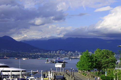 Seawall, Inlet & North Van