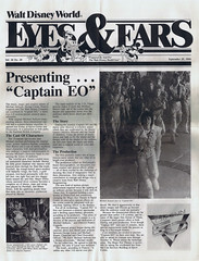 Eyes and Ears Captain EO cover