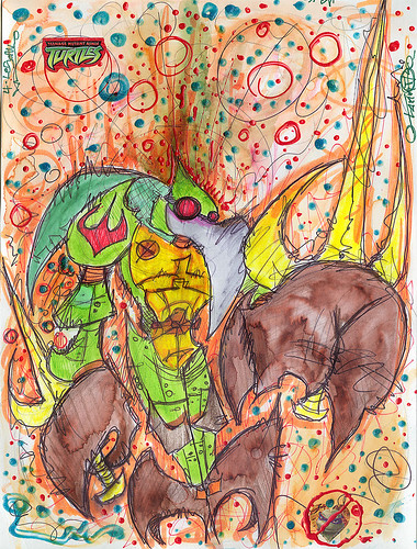 """ t2z - the tOkKA bootlegz :: t-4 .. GO GREEN EVIL MACHINE ""  2.2"