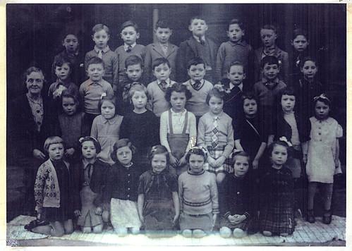 Annette St Primary, Govanhill, 1941.