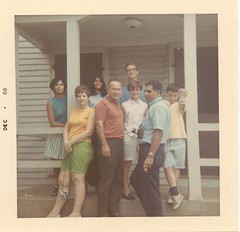 Camille, mother, Danelle, ?, me, Melody, Ralph, Kenton (Griffity) Tags: jim james jimmy griff melody kenton griffith danelle rivas stadium projects lawrence south ma mass west dalton street st ralph camille marilyn