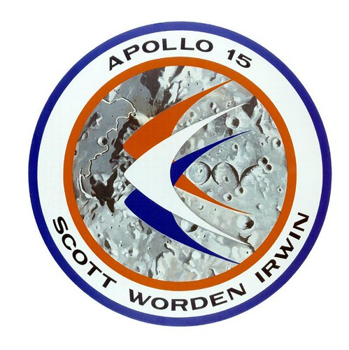 APOLLO 15 / DAVID SCOTT - JAMES IRWIN - AL WORDEN