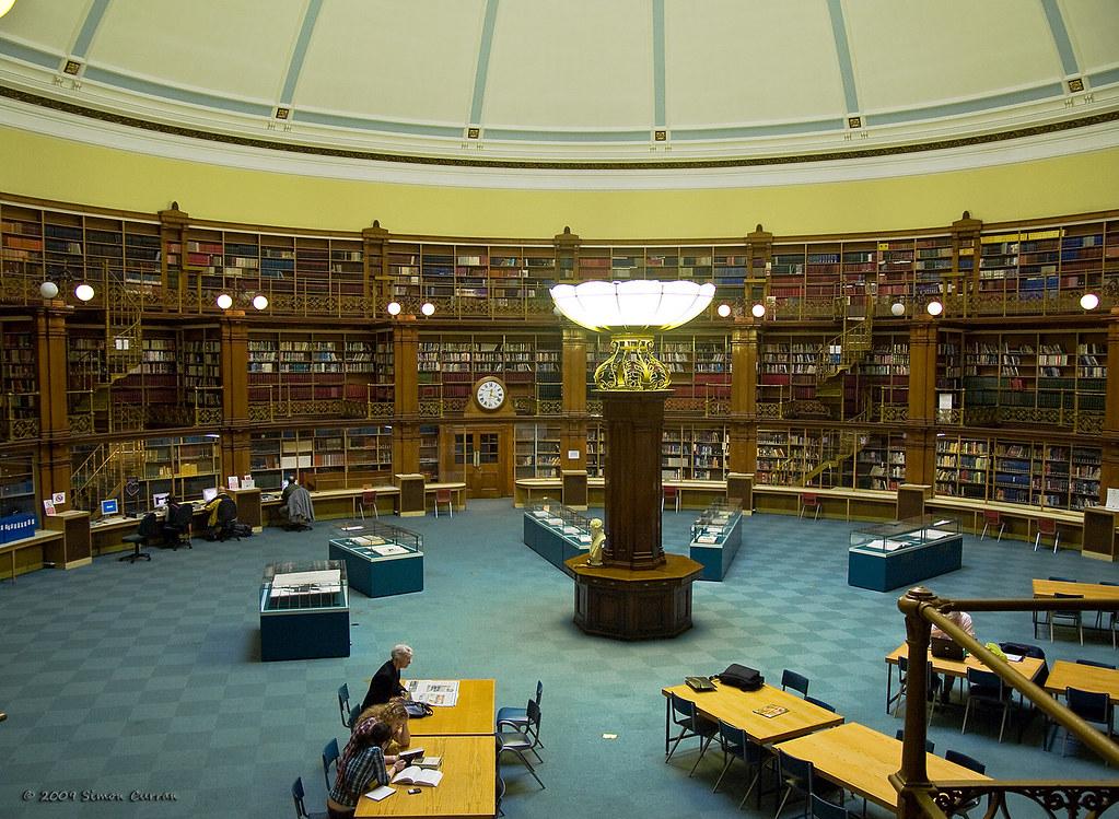 Architecture of Bibliotopia: Library Pr0n [Archive