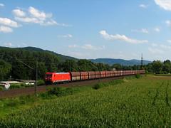 DB 185 370 (Krali Mirko) Tags: electric train germany deutschland railway zug db cargo locomotive deutschebahn bahn freight 185 lokomotive bombardier traxx laudenbach badenwürttemberg güterzug bickenbach ganzzug 185370 mainneckarbahn