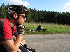 zaduma przy zachodzie (Bart0lini) Tags: bike rower czechy teplicenadmetuji