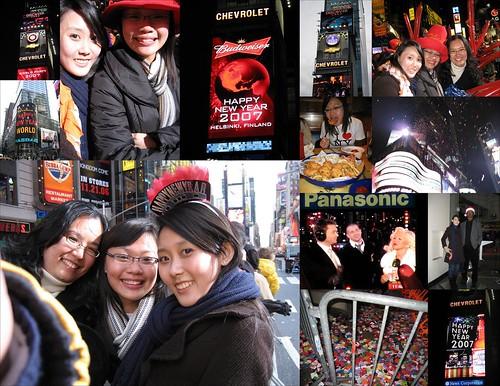 31 Dec 06 NYC Times Sq Countdown