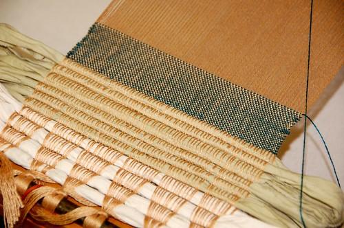 Actual Weaving!