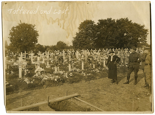 World War I cemetery_tatteredandlost