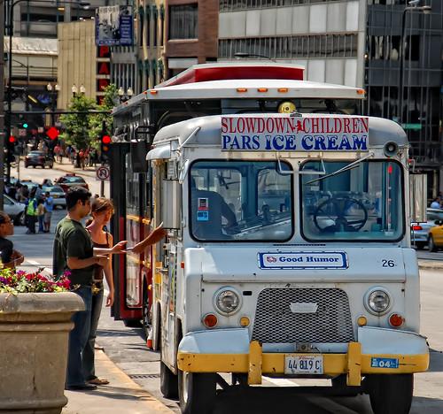 Millennium Park Ice Cream Truck