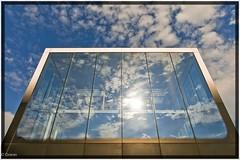 Lost Soul Color (DAC81) Tags: street blue roof sky color clouds canon deutschland mirror hamburg himmel wolken soul blau dach farbe spiegelung speicherstadt seele hafencity weitwinkel bearbeitung strase eos400d mmkef2