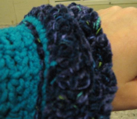 Crochet Shrug 1: Sleeve Detail [2]