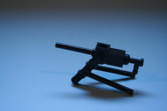 M1919 w/ Tripod (FirstInfantry) Tags: lego wwii lmg brickarms m1919a4 m1919
